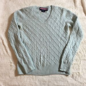 Vineyard Vines Cashmere cable knit sweater